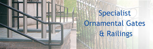 Specialist ornamental gates & railings